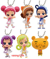 BANDAI Magical Ojamajo Doremi Swing Keychain Gashapon Figure (Set 6 pcs)