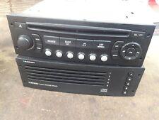 Peugeot / Citroen C4 Stereo / CD Changer Radio Head Unit 9554571377 RD4 N1