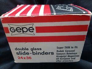 GEPE Double Glass Slide Binders 24 x 36