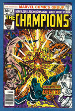 THE CHAMPIONS  # 8 - 1976 Marvel (fn-vf) Hercules  Ghost Rider  Black Widow  (A)