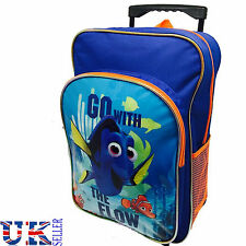 2 IN 1 FINDING DORY KIDS TROLLEY SCHOOL BAG CHILDREN LUGGAGE SHOPPING BACKPACK