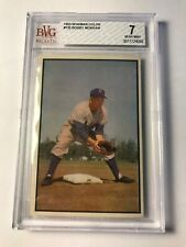 1953 Bowman #135 BOBBY MORGAN BVG 7 NM! BROOKLYN DODGERS PSA FRESHLY GRADE
