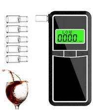 Breathalyzer, AHUIFT Professional Alcohol Tester, Portable Digital LCD Breathaly