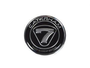 Caterham Official Nosecone Badge Black/Silver 30V297A