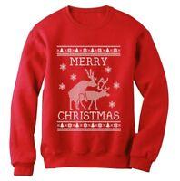 Reindeer Humping ugly christmas sweater Sweatshirt Merry Xmas Party Present Gift