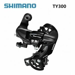 Shimano Tourney RD-TY300 6 7 Speed Rear Derailleur Bracket Fit Replaces TX35 New