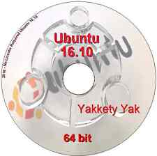 Ubuntu 15.10 64 bit run live & ou installer DVD libre office, Firefox, Thunderbird