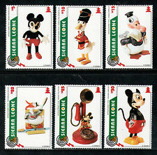 Sierra Leone 1995 MNH Antique Disney Toys