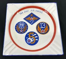 Vintage Us Army Air Forces Far East 6005th Air Postal Group Ashtray