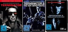 TERMINATOR 1 2 3 Uncut SCHWARZENEGGER 3 DVD Collezione