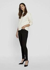 Vero Moda Vmsophia High Waist Skinny Jeans Hose schwarz black Noos Stretch *NEU*