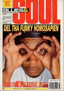 Blues & Soul Magazine 1992    Eddie Kendricks    Gerald Levert    Millie Jackson