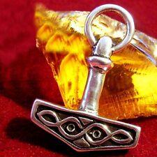 Thors Hammer Silber Wikinger LARP Asatru Viking pendant