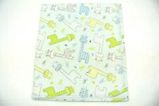 Baby Blanket Giraffes Chevrons Polka Dots Can Be Personalized 36x40 Blue