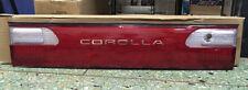 JDM Toyota Corolla Rear Center Garnish AE100 AE101 E100 91-97 Sedan USA