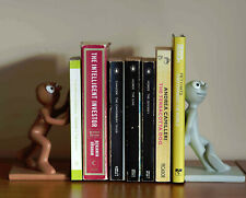 MORPH AND CHAS Resin Bookends. TONY HART - ART ATTACK - Television Collectible