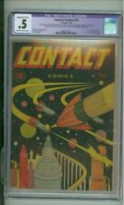 Contact Comics #12 CGC .5 Classic Sci-Fi Cover Last Issue 1946