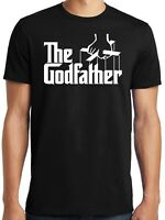 PubliciTeeZ Big and Tall King Size Godfather Logo T-Shirt