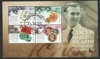 AUSTRALIA COCOS(KEELING) ISLAND 2020 CURRENCY OF THE CLUNIES ROSS ERA SHEET USED