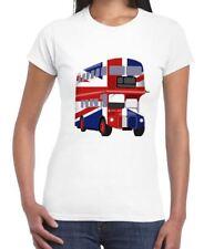 London Bus Union Jack Women's T-shirt - Flag UK Great Britain