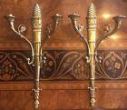 Gilt Bronze Thomire Empire Style Sconces