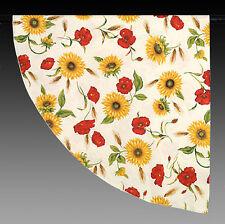 Mantel aproximadamente con solar y amapolas 180 cm Provence nuevo 100% algodón
