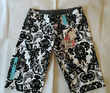 Ten 80 Ladies Girls Flower  Board Shorts Size 01 Surf Swimwear BNWT