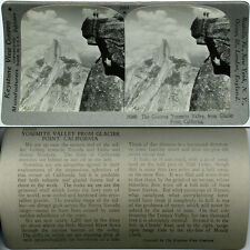 Keystone Stereoview of HALF DOME & VALLEY, YOSEMITE, CA From 600/1200 Card Set