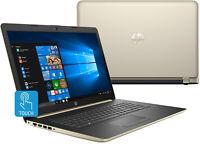 "HP 17-by0063cl Intel Core i7-8550U 8GB+ 16GB Intel Optane 17.3"" HD+ Touch Laptop"