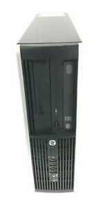 HP Compaq Elite 8300 SFF Core i7 3770 3.4GHz 8GB RAM 256GB SSD Win 10 Pro