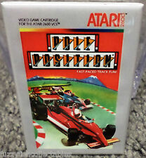 "Pole Position Atari 2600 Vintage Game Box  2""x3"" Fridge Locker MAGNET Nintendo"