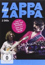 FRANK  ZAPPA  -  ZAPPA PLAYS ZAPPA   2 DVD NEW!