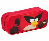 Angry Birds Space Plastic Pencil Box, Pencil Case - Red