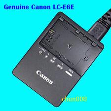 Genuine Original Canon LC-E6E Charger For EOS 5D Mark ll III 6D 7D 60D 80D 7DII