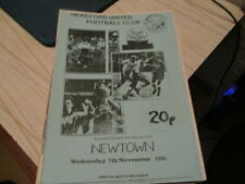 HEREFORD  UTD  V  NEWTOWN  1990-1  WELSH  CUP