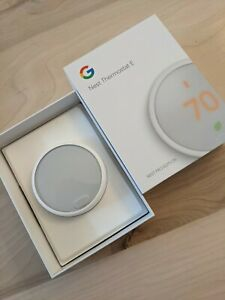 Google Nest ThermostatE - White (T4001ES)
