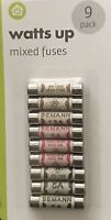 Electronic Fuses Pack Of 9. 3AMP x 3, 5AMP x 3, 13AMP x 3 SAME DAY DESPATCH 2PM