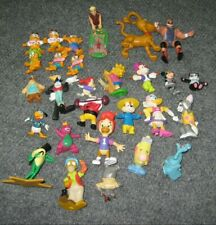 lot of 28 Mini Figures 80's 90's Disney Duck Tales Mickey Garfield Toy Vintage
