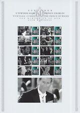 Gb 2008 - Hrh Prince Charles 60th Birthday - Commemorative Smilers Sheet