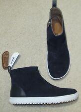 Birkenstock Melrose Blue Leather Zip Ankle Boots Size L 8 / M 6 /39 Regular New