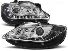 LED FARI ANTERIORI LPSE17 SEAT IBIZA MK V 6J 2008 2009 2010 2011 2012 CHROME