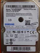 500 GB Samsung HN-M500MBB / 2011.12 / PCB: M8_REV.03 #13-16 #18-20 #22-24