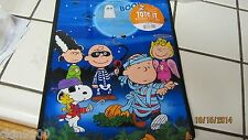 SNOOPY TRICK OR TREAT BAG LARGE SNOOPY & GANG ALL IN CUSTOME CUTE NEW