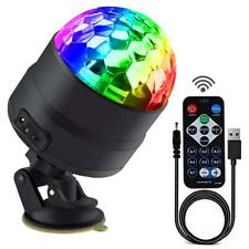 Disco Ball Party Lights Portable Rotating Lights Sound Activated LED Strobe