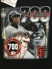 Vtg San Francisco Giants Barry Bonds 700 Home Run Mens Shirt XL Baseball MLB 90s