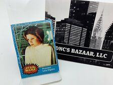 Princess Leia Organa Star Wars Trading Card 1977 Vintage