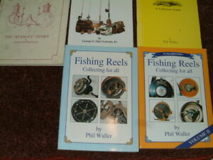 5 x fishing guides.3 signed 1 limited edition.1st edition carp barbel trout etc