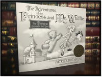 Adventures of the Princess Mr. Whiffle ✎SIGNED✎ by PATRICK ROTHFUSS New Hardback