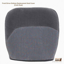 1994 1995 1996 Ford F150 F250 XLT Driver Side Bottom Cloth Seat Cover Opal Gray