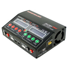 HOBBYMATE 120AC Duo Lipo Balance Charger DC AC 12A 120-240W Dual Charge Port